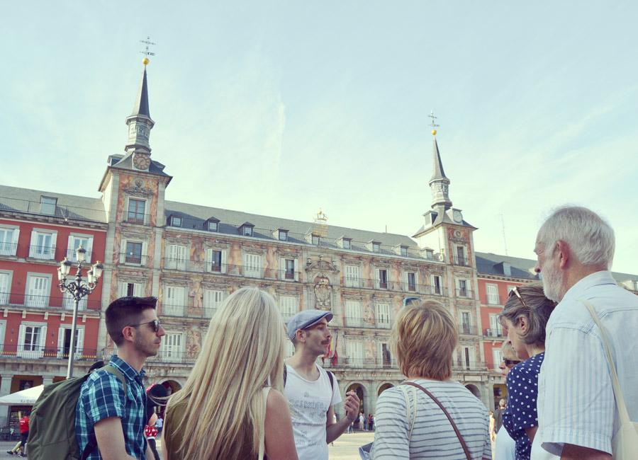 Tour in Madrid