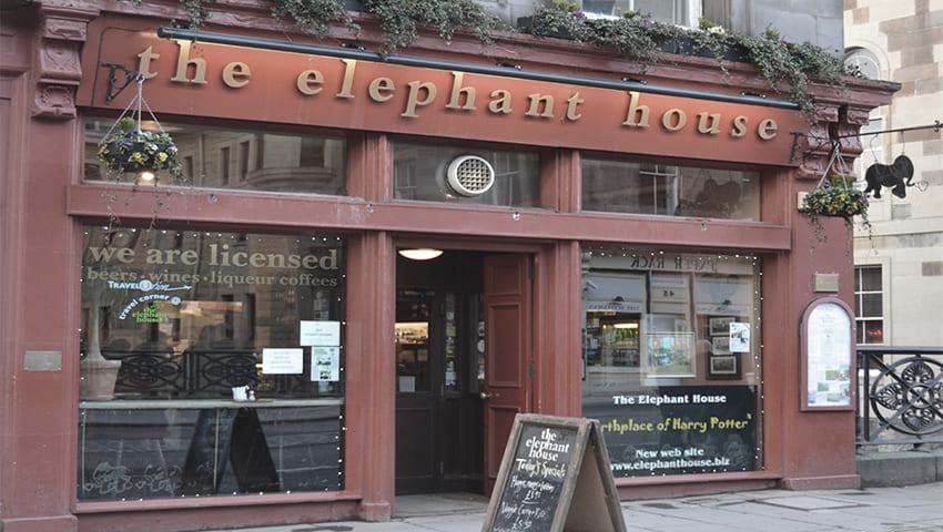The Elephant House. Edinburgh