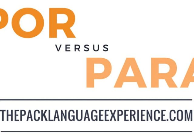 Differences between POR and PARA