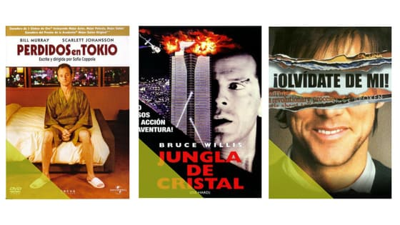 Movies with titles translated to Spanish