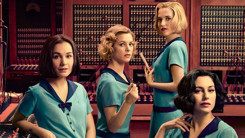 Spanish TV serie Cable girls