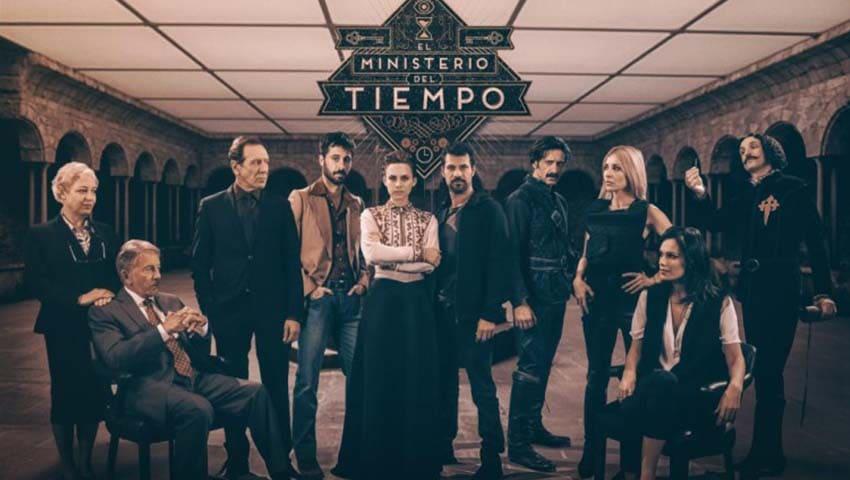 Spanish TV serie El Ministerio del Tiempo