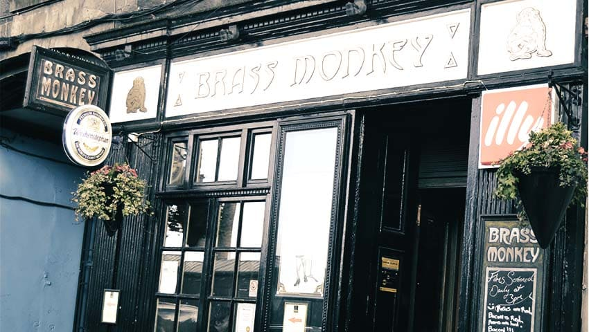 Brass Monkey. - Pub in Edinburgh