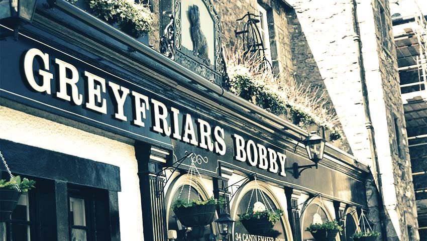 Greyfriars Bobby-Edinburgh
