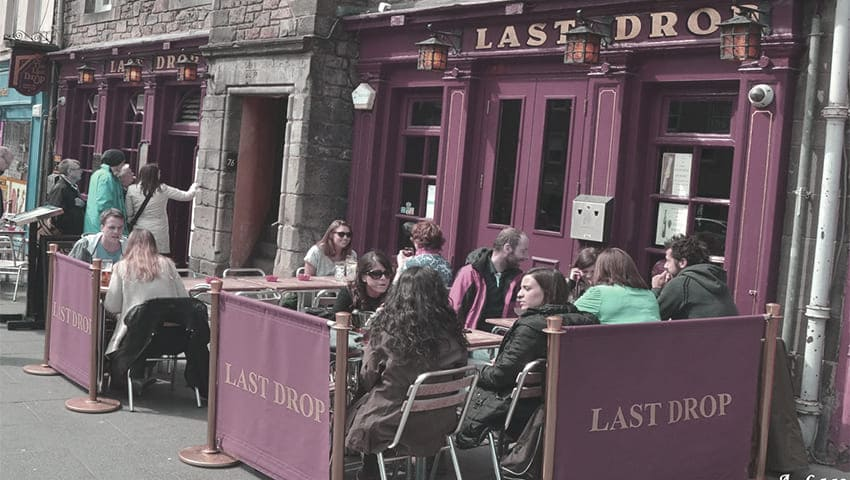 Pubs in Edinburgh - The Last Drop