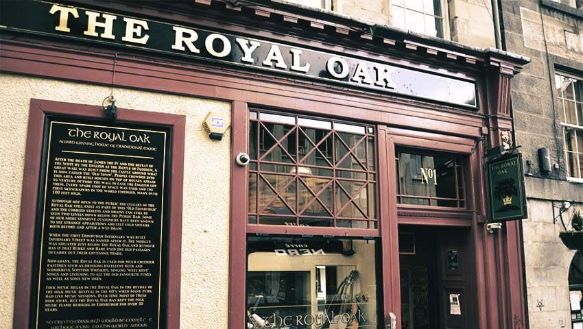 The Royal Oak - Pubs in Edinburgh