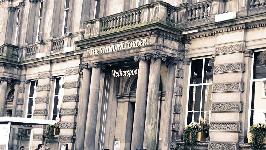 The Standing Order - Edinburgh Pub