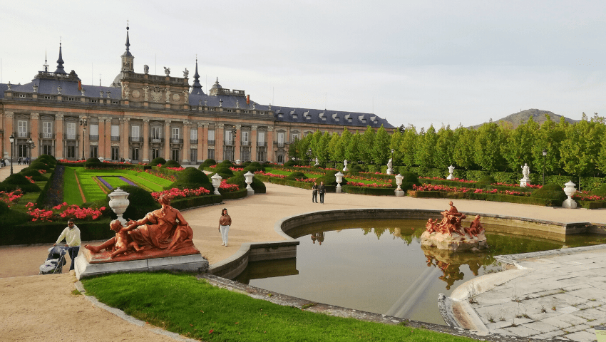 Full day excursion from Madrid: La Granja